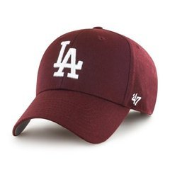 Czapka z daszkiem MLB  LOS ANGELES DODGERS '47 MVP bordo