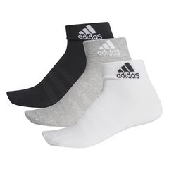 Skarpety ADIDAS Light ANK 3-Stripes 3 pary Czarne