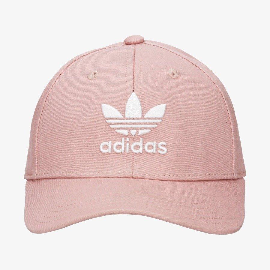 Czapka damska adidas Różowa z daszkiem Bejsbolówka Classic Trefoil