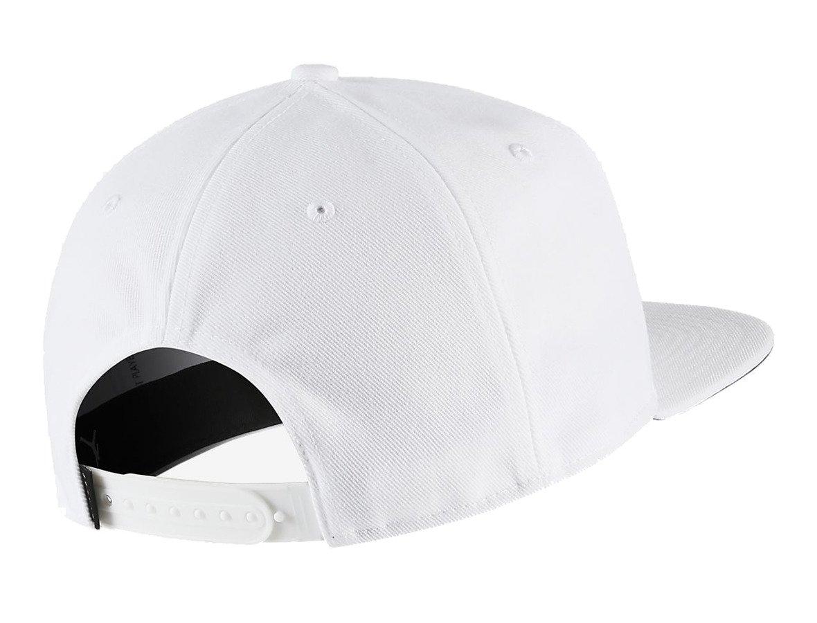 Czapka z daszkiem NIKE AIR JORDAN Pro Jumpman Snapback biała